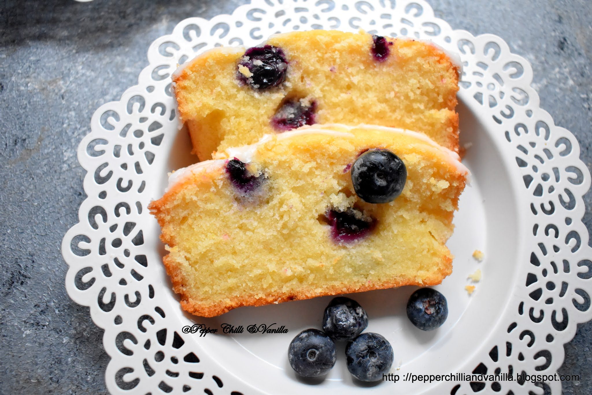 how to make blueberry lemon cake