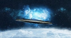 Η κάμερα του δορυφόρου Amos 17 της SpaceX του Αμερικανού δισεκατομμυριούχου, Έλον Μασκ, κατέγραψε ένα αγνώστου ταυτότητας ιπτάμενο αντικείμε...