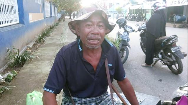 Dijambret di Depan Bank, Kakek Makmur: Uang Itu untuk Beli Kain Kafanku