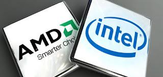perbedaan antara prosesor AMD dan prosesor Intel