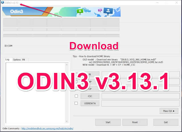 Odin3  V3.13.1 Release Downloa on This Page