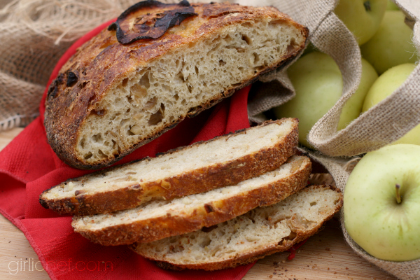 Triple Apple Bread #apples #bread #twelveloaves