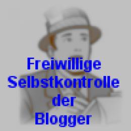 Blogger: Freiwillige Selbstkontrolle