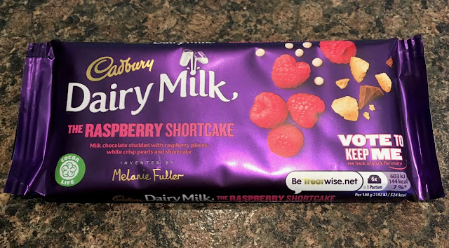 Cadbury Dairy Milk - The Raspberry Shortcake