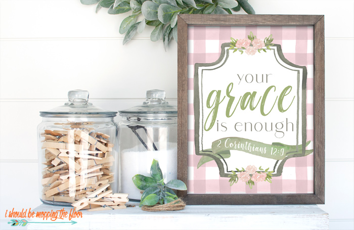 Farmhouse Grace Printable