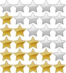 imagenes de calificacion mediante estrellas