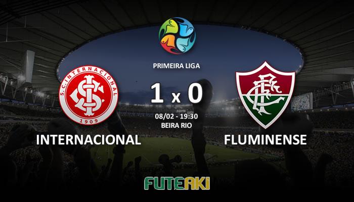 Veja o resumo da partida com os gols e os melhores momentos de Internacional 1x0 Fluminense pela Primeira Fase da Primeira Liga 2017.