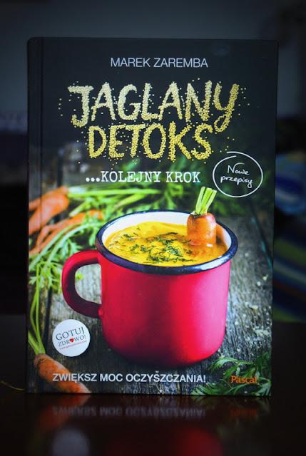 jaglany detoks.kolejny krok,marek zaremba,kasza jaglana,dynia hokkaido,ciecierzyca,wegetariańskie danie,zupa z dyniowa,jarmuż,detoks,dietetyczne danie,zupa oczyszczająca,