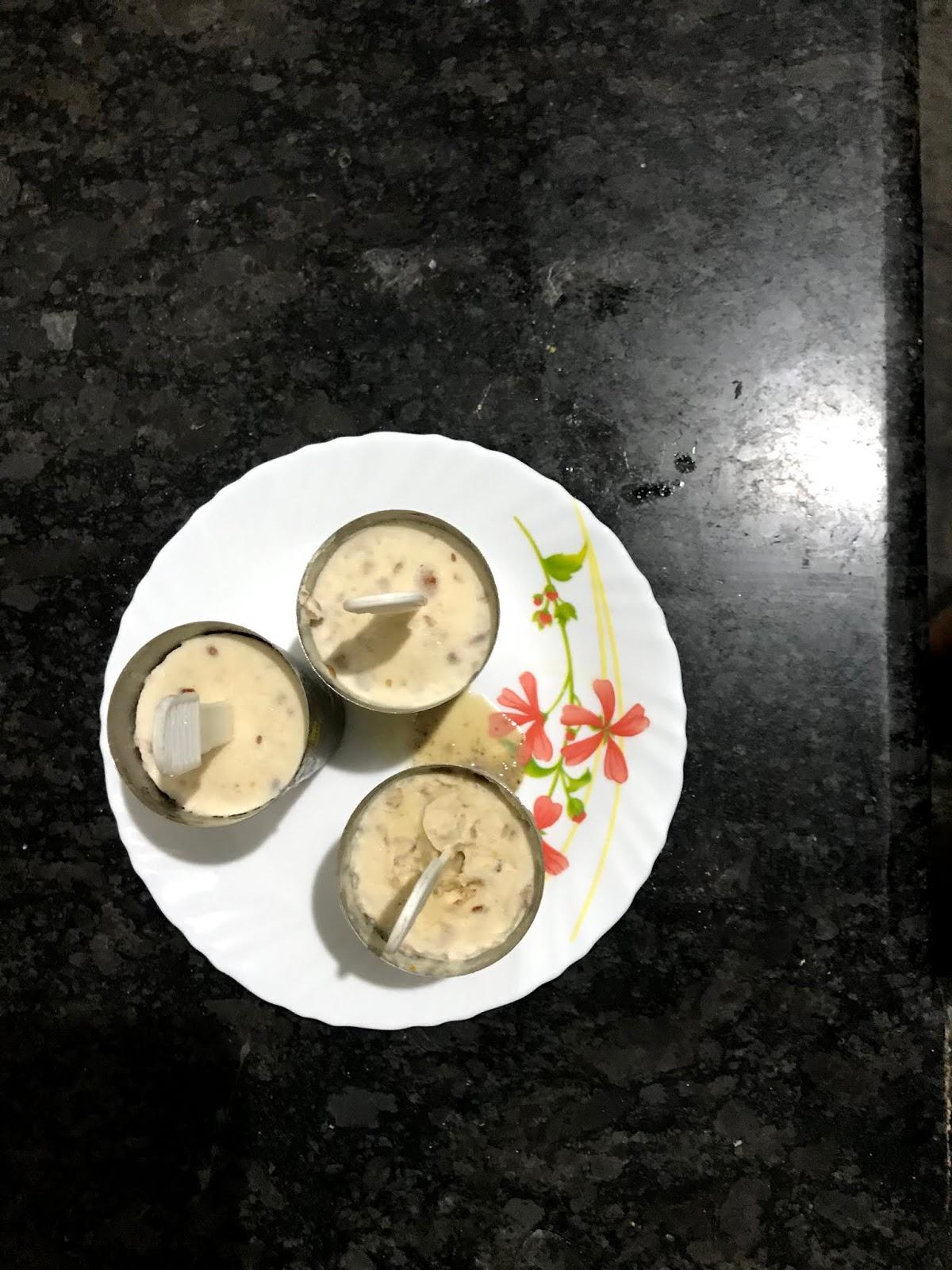 homemade kulfi