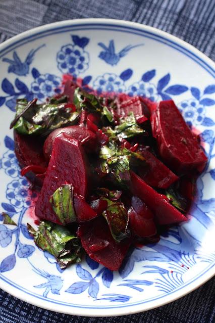 betterave rouge au vinaigre noir chinois