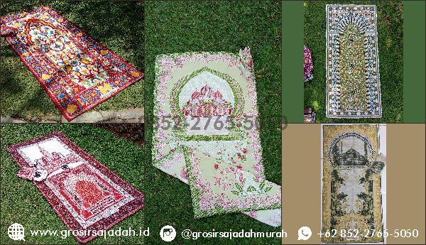Beli Sajadah Murah di Grosir Sajadah Murah Surabaya | +62 852-2765-5050