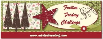 I was on the Design Team At Festive Friday Challenges!