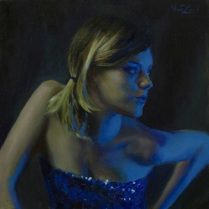 Американский художник. Michael Van Zeyl