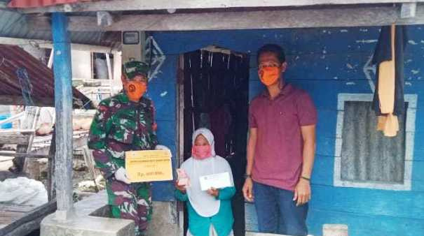Warga Desa Bonea, Kecamatan Pasimarannu Selayar Terima BLT DD, Ini Himbauan Kadesnya