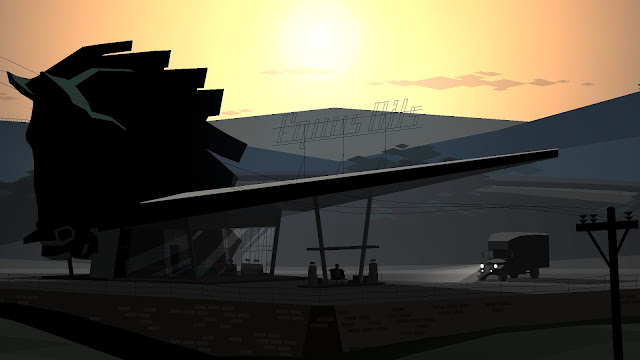 Screenshot from Kentucky Route Zero with no artifacts!