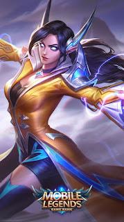 Eudora Flame Red Lips Heroes Mage of Skins Rework V1