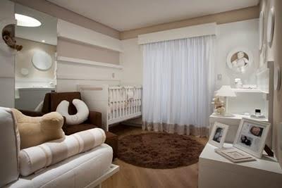 Dormitorio para bebé chocolate