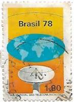 Selo Dia Mundial das Telecomunicações