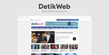 Detikweb Blogger Template - New 2021