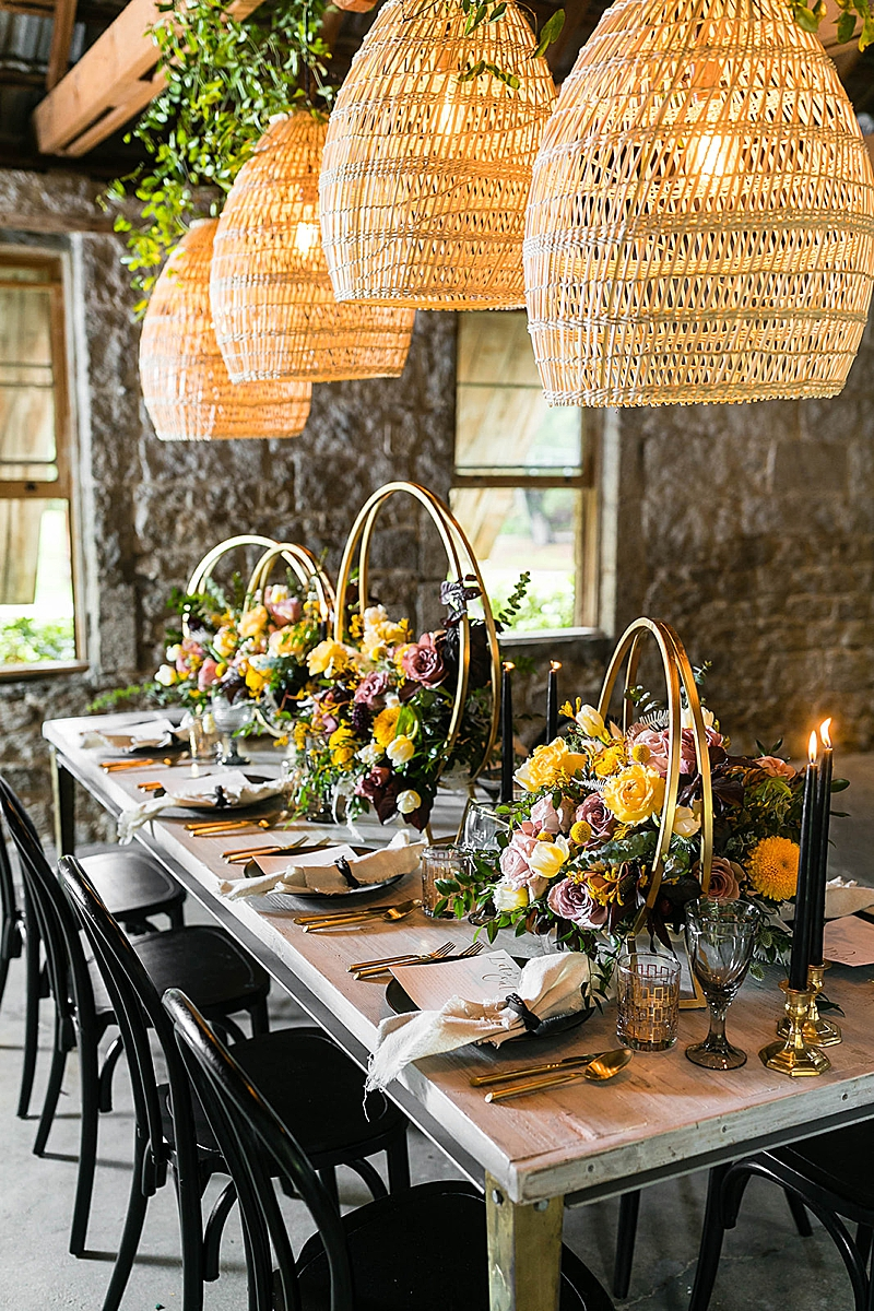 Moody Boho Inspiration At Temecula Creek Inn Southern California Wedding Ideas And Inspiration