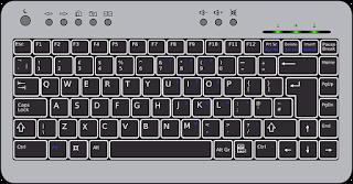 की-बोर्ड ( keyboard )  input devices