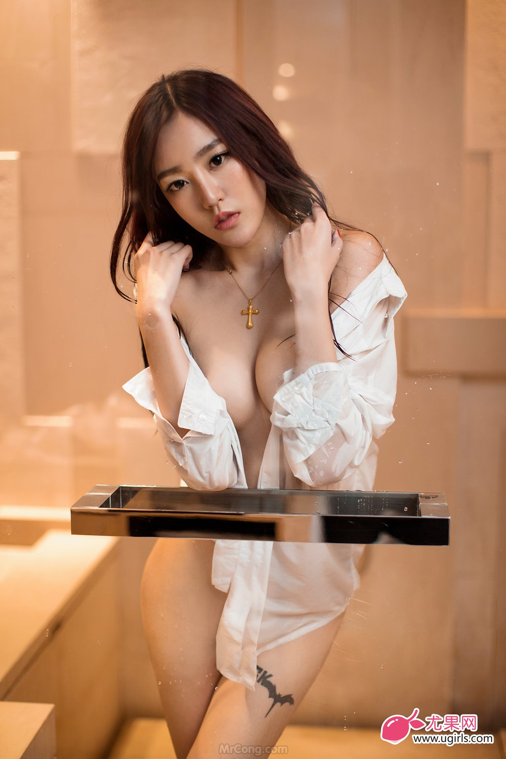 Image MrCong.com-UGIRLS-026-Guo-Wan-Qi-033 in post Người đẹp Guo Wan Qi (郭婉祈) gợi cảm trong bộ ảnh UGIRLS 026