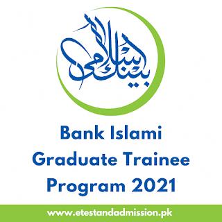 Bank Islami Graduate Trainee Program 2021