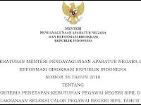 Dari Total 438.590, Hanya 13.345 Tenaga Honorer K-II Yang Berhak Ikuti Seleksi CPNS 2018