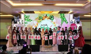 Pemenang 20 besar audisi Sunsilk Hijab Hunt 2018 Bandung