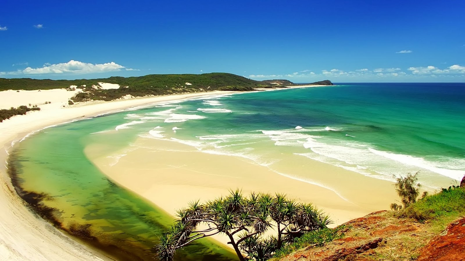 Beautiful Beach Images Hd Nature: Widescreen Beach HD Nature Images Wallpapers For Desktop
