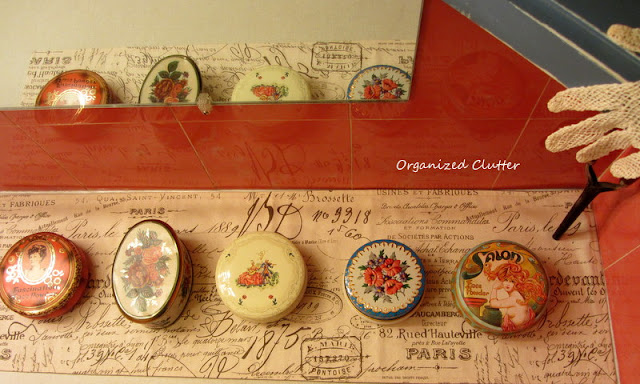 Vintage Bathroom Powder Tin Collection