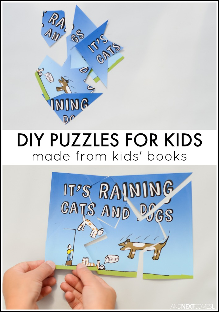 how to make puzzle books