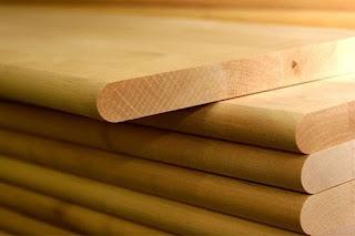 Фасады из массива древесины