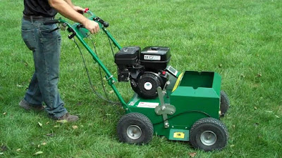 how does an overseeder work, what is an overseeder, what does an overseeder do, mechanical seeder, using an overseeder, overseeding equipment, how to use an overseeder, power lawn seeder, grass seed machines, best overseeder, lawn seeder machine, lawn overseeder, slice seeding machine
