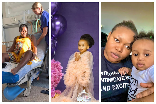 I was in Labor for 22 hours- Actress Ruth Kaidiri says as she celebrates her daughter who just clocked 2 years old (Photos)