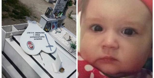 Βεβήλωσαν τον τάφο της 3χρονης Ραφαέλας...(video)
