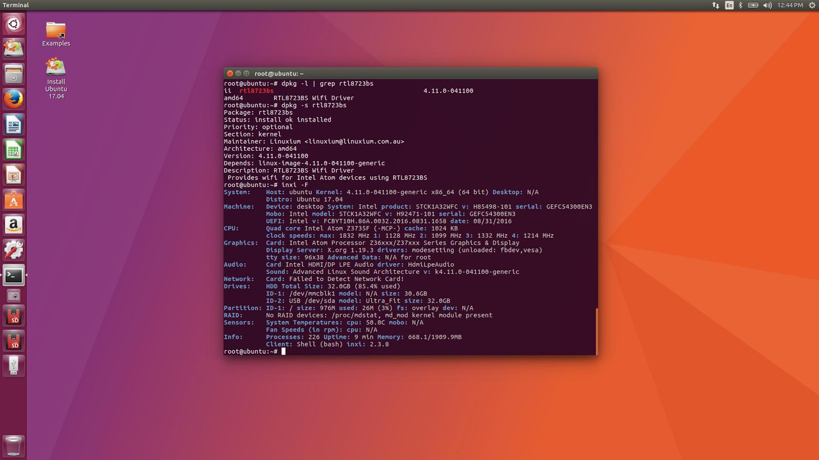 linuxium com au: Interim RTL8723BS wifi packages for mainline kernel