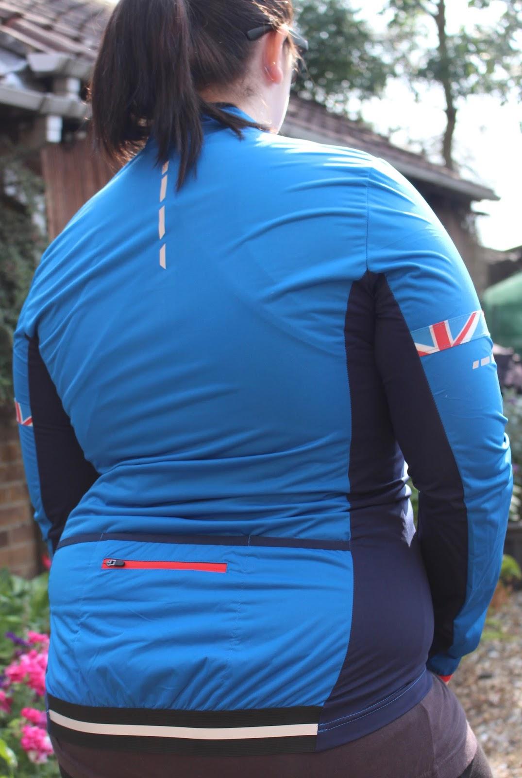 Team gb cycling jacket blue size 18