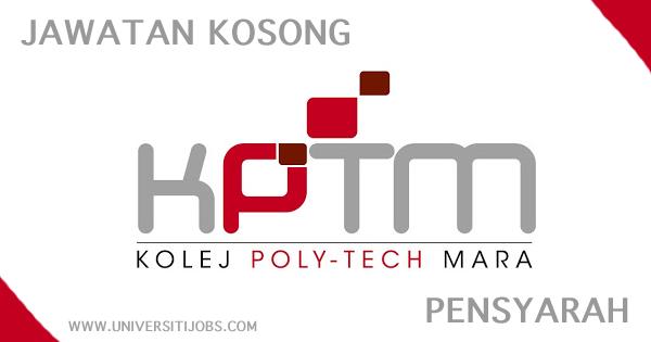 Jawatan Kosong Kolej Poly-Tech MARA