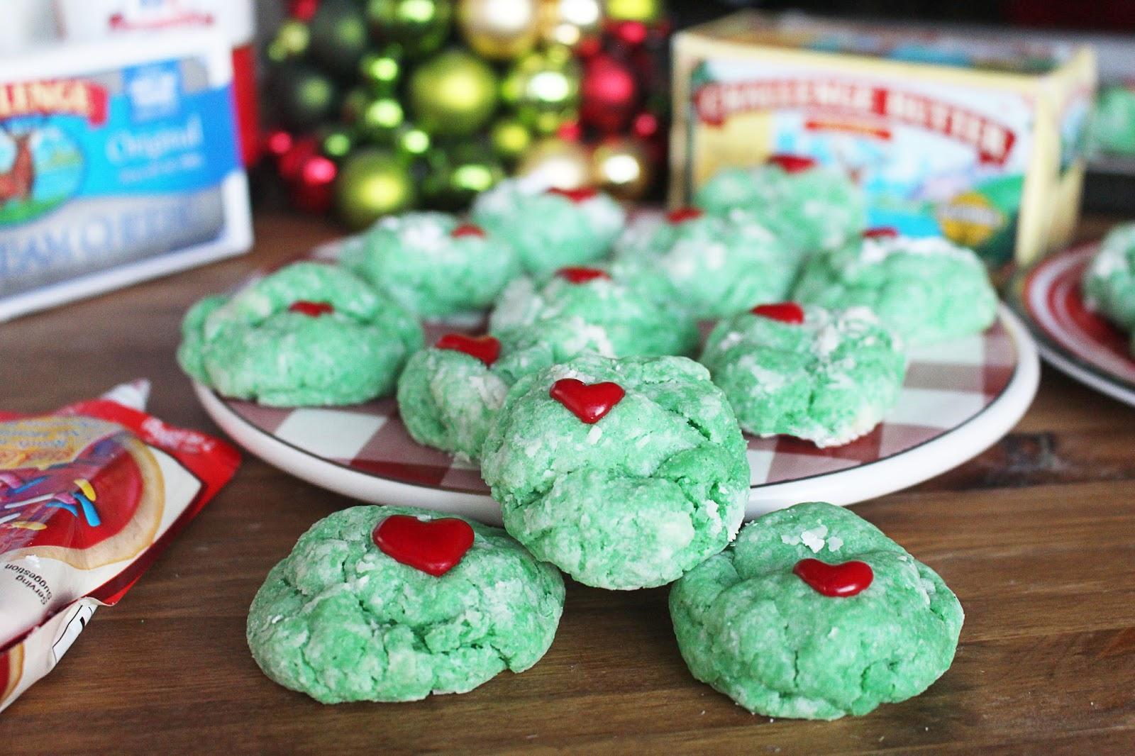 Kylee S Kitchen Grinch Gooey Butter Cookies