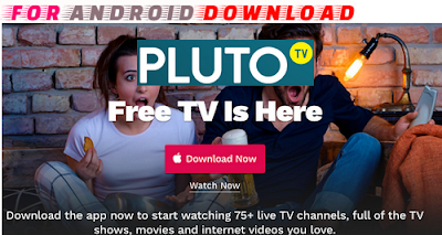 Download  Pluto-Tv Android Apk -Watch Live Tv Channel on Android