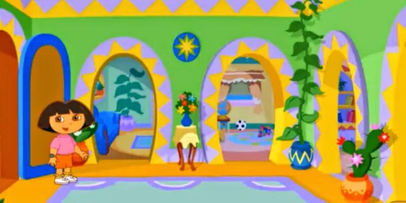 Free Kids Games Welcome To Le Casa De Dora