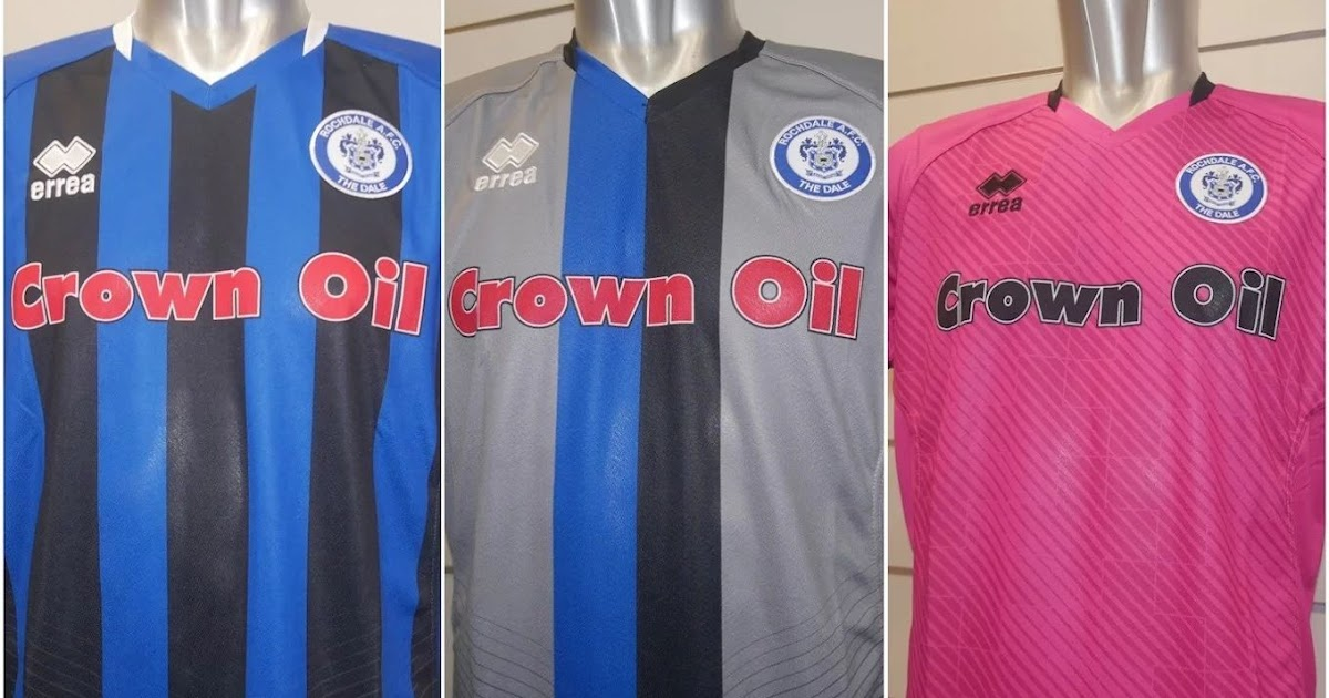 Rochdale 2019-20 Home, Away And Third Kits Released