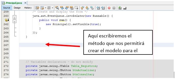 CRUD en Java Consultar registros