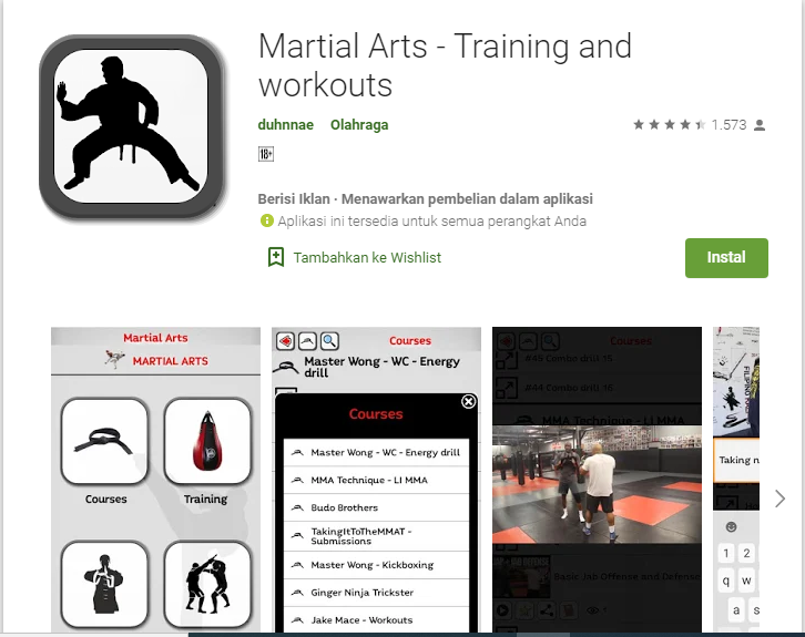 6 Aplikasi Android Belajar Seni Bela Diri Terbaik