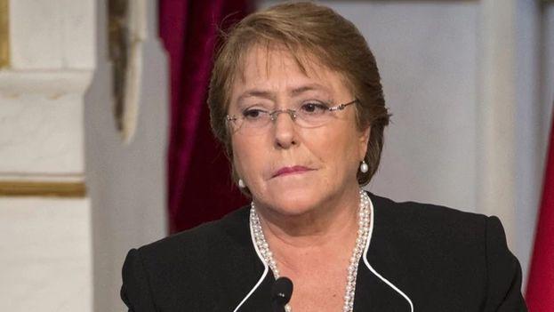 La ceguera de Michelle Bachelet