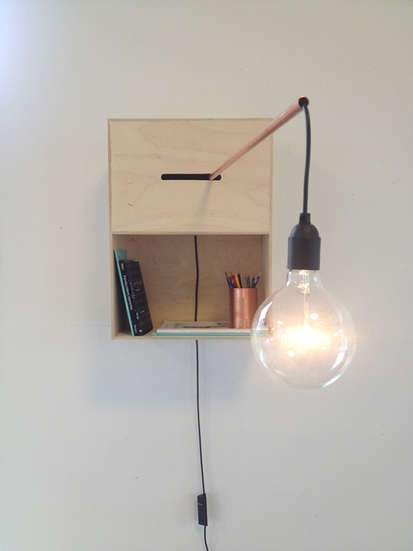 A Lamp Specially Made For When You Sit In Your Favorite Armchair Reading Book The Copper Pipe Is Movable So Can Adjust Lightsource There