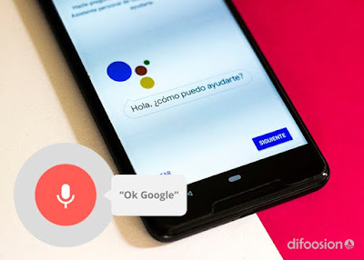 Control de voz apps