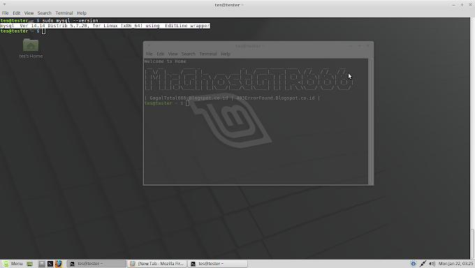 Install dan konfigurasi MySQL Server di Linux Mint 18.3 Sylvia