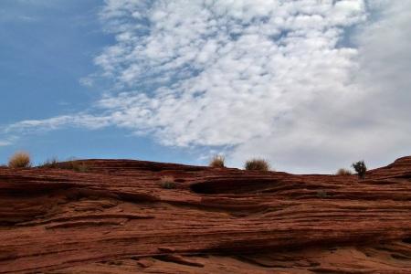 A vadak ura 2. egyik forgatási helyszín - Glen Canyon